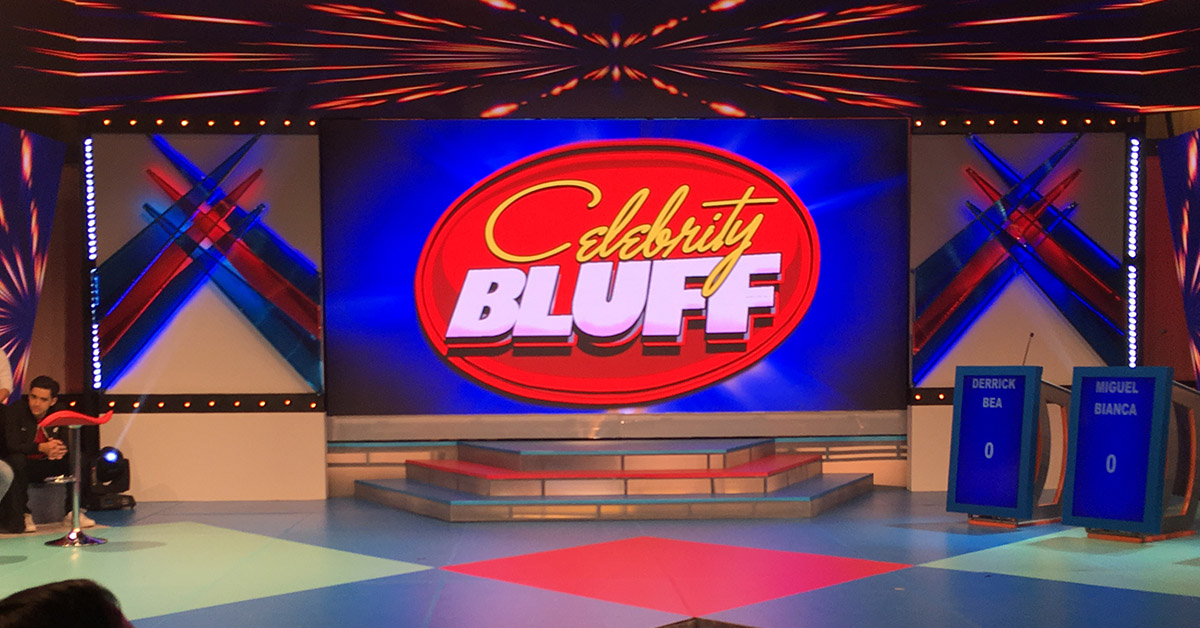 Celebrity Bluff: Gagambang nakadila - YouTube