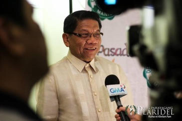 "GMA News Pillar and Imbestigador ng Bayan Mike Enriquez was named the ""Pinakapasadong Lingkod-Bayan"" at the 19th Gawad Pasado Awards.(Photo courtesy of Ang Pahayang Plaridel)"