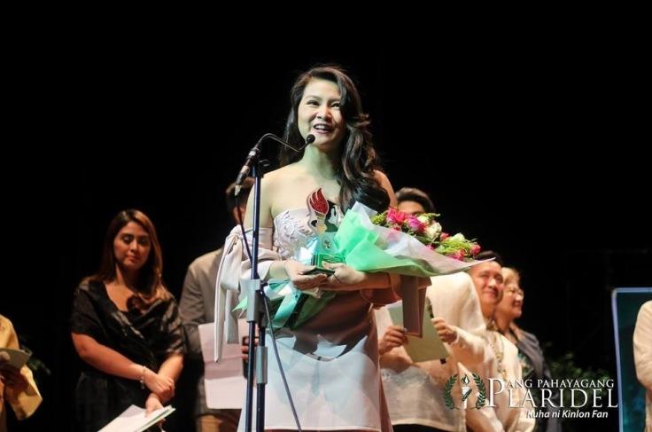 """Kapuso actress Barbie Forteza won the """"Pinakapasadong Katuwang na Aktres"""" at the 19th Gawad Pasado Awards (Photo courtesy of Ang Pahayang Plaridel)"""