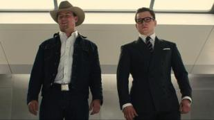 channing tatum and taron egerton in KINGSMAN THE GOLDEN CIRCLE