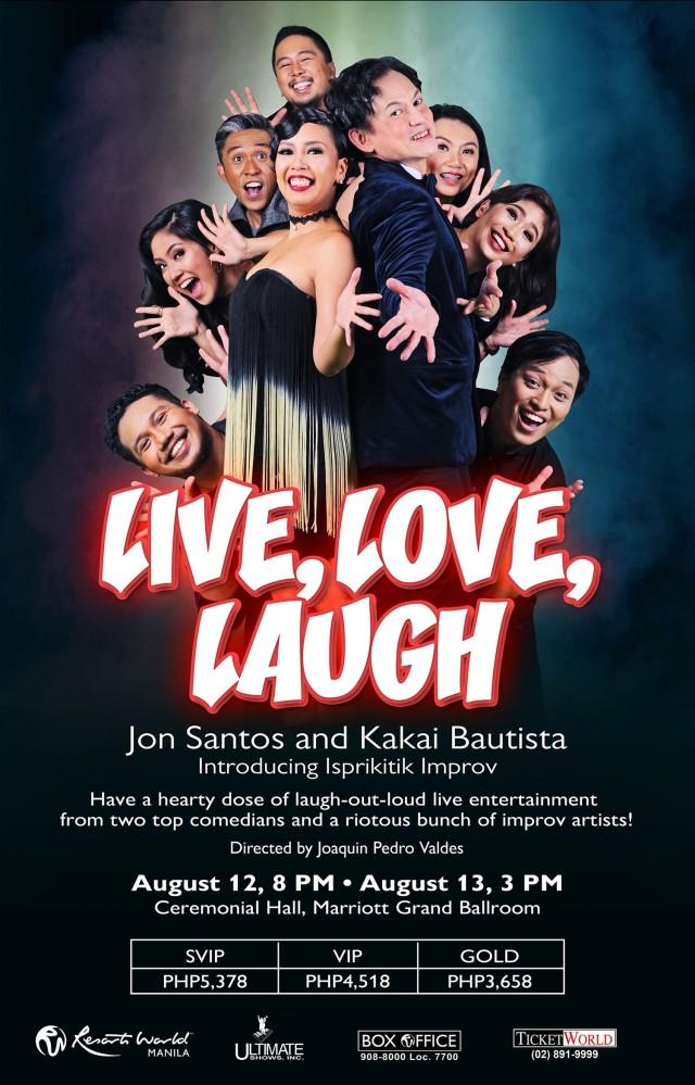 FA Live, Love, Laugh Light Box Poster