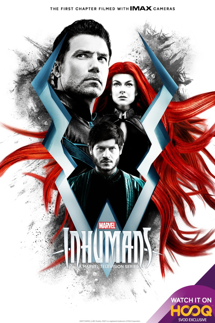 New on HOOQ Inhumans