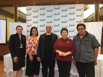 SAVP for Alternative Productions Gigi Santiago-Lara, Ana Feleo, Anthony Vincent Bova, SVP for Entertainment TV Lilybeth Rasonable, and Direk Maryo J. delos Reyes
