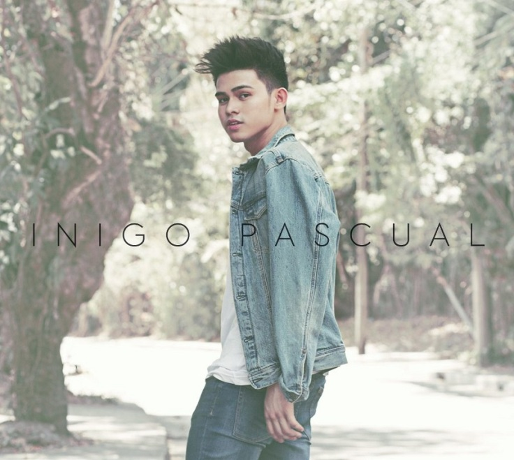 Inigo Pascual self-titled debut album that was released in 2016
