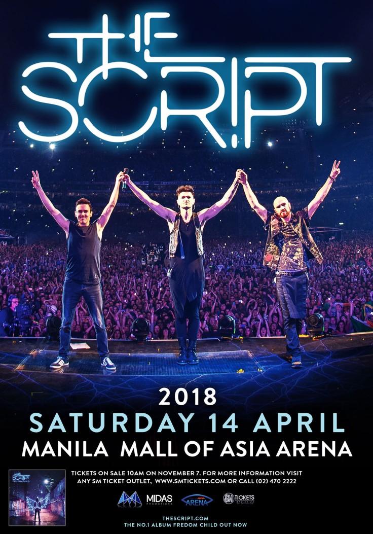 The Script Manila Poster Oct 24