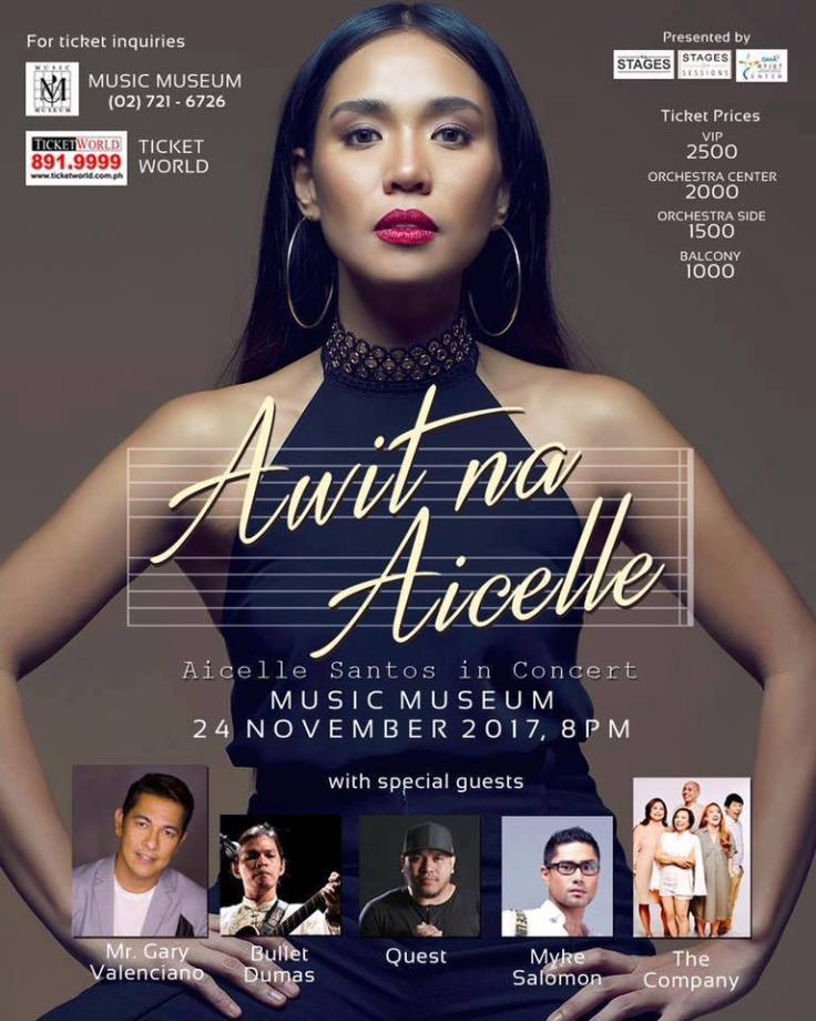 Awit na Aicelle Poster