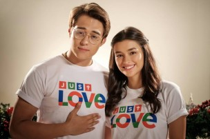 Enrique Gil and Liza Soberano use their sweetness to spread love this Christmas in the Station ID