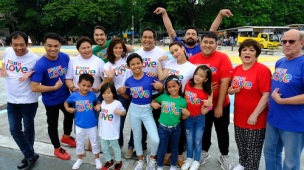 FPJ's Ang Probinsyano cast joins the ABS-CBN Just Love Christmas Station ID