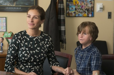 julia roberts & jacob tremblay in WONDER
