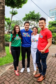 Love Will Lead You Back cast Yen Santos, Sam Milby, Yam Concepcion, Jericho Rosales