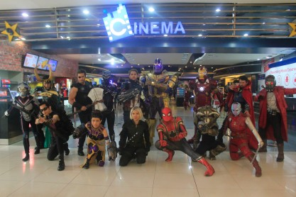Cosplayers at the Marvel Studios Fan Event by SM Cinema