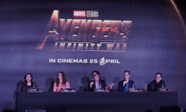 SM Cinema brought live updates from the press conference of the Avengers Infinity War in Singapore (2)
