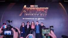 SM Cinema brought live updates from the press conference of the Avengers Infinity War in Singapore