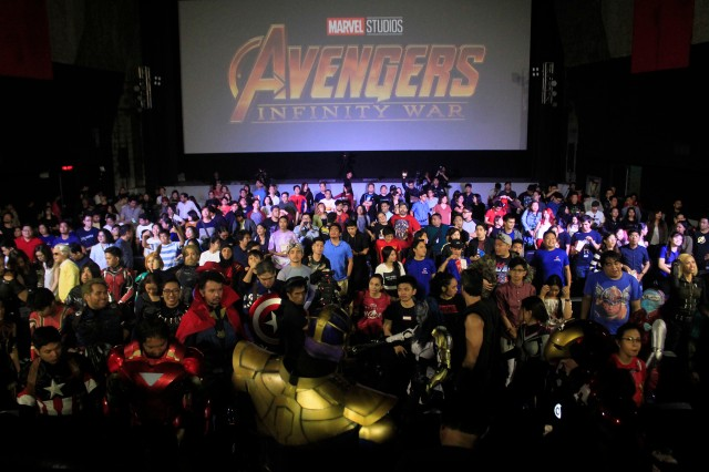 The Filipino Marvel fans at the Marvel Studios Fan Event by SM Cinema