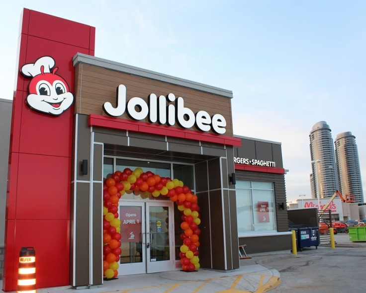 The Jollibee Scarborough is the Filipino fast-food chain third store in Canada and the 40th store in North America
