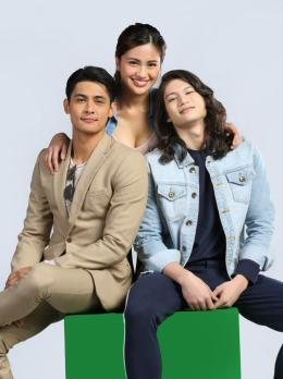 Julie Anne San Jose with Kiko Estrada and Gil Cuerva