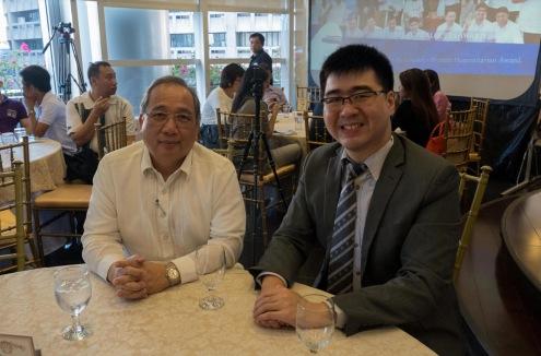 (L-R) AY Foundation Board Member Dr. Reynaldo B