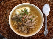 20576474 - the famous la paz batchoy of iloilo philippines. must try food when visiting the place.