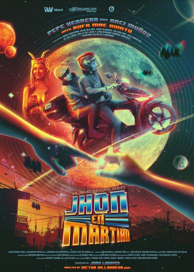 iWant original movie Jhon en Martian poster