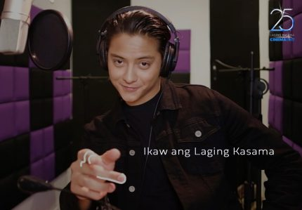 Daniel Padilla for Cinema One's 25th anniversary theme song 'Laging Kasama' (1)