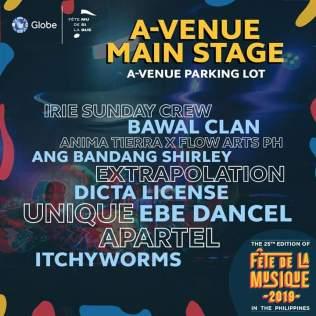 Main Stage - A-Venue (SQ)