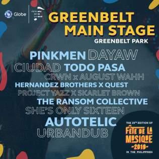 Main Stage - Greenbelt (SQ)