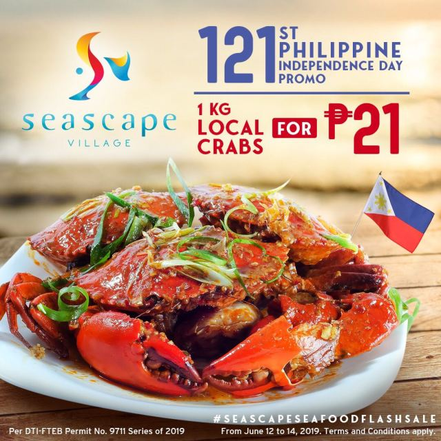 Seascape Independence Day Promo 060819