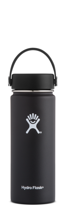 Hydro-Flask-18-oz-Wide-Mouth-Black