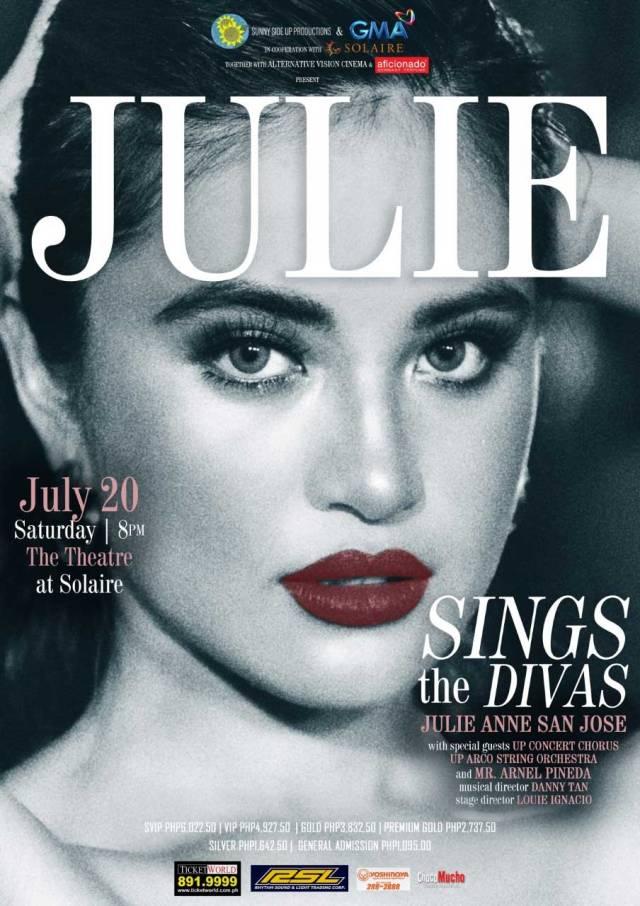 Julie Sings the Divas