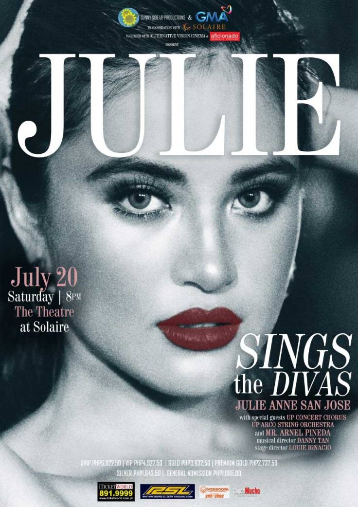 Julie Sings the Divas
