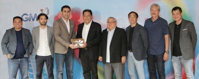 PHOTO 2 - GMA Network and YouTube executives