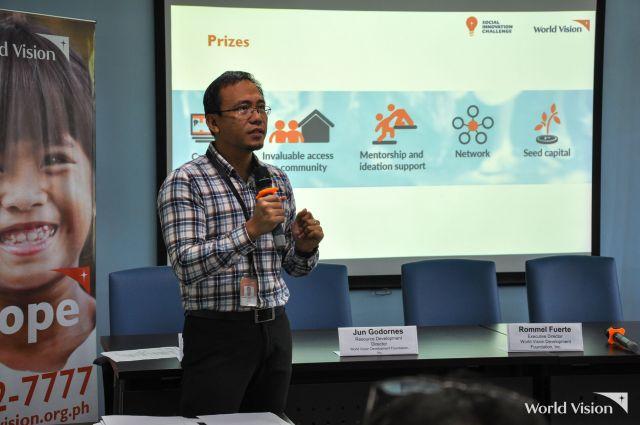 world vision philippines social innovation challenge jun godornes