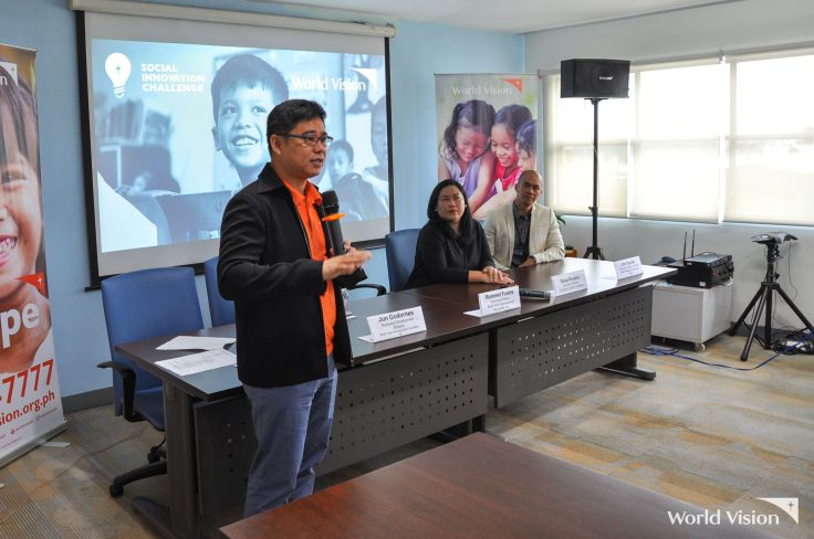 world vision philippines social innovation challenge rommel fuerte