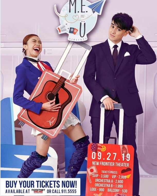 ME and U MayWard Live in Concert Poster
