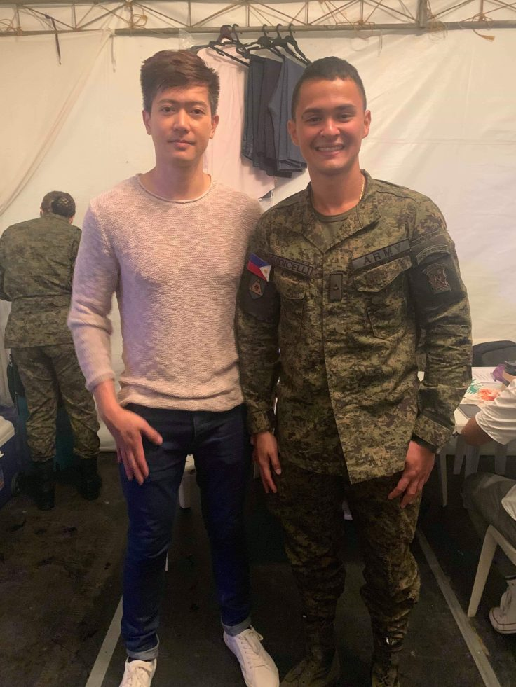 Ronnie Liang Matteo Guidicelli Army Show