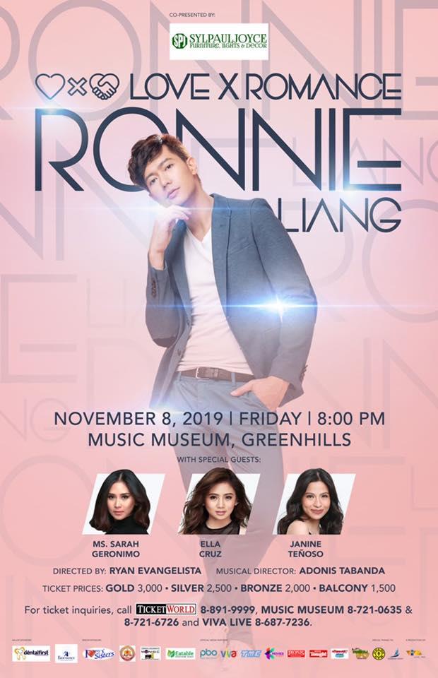 Ronnie Liang Love X Romance
