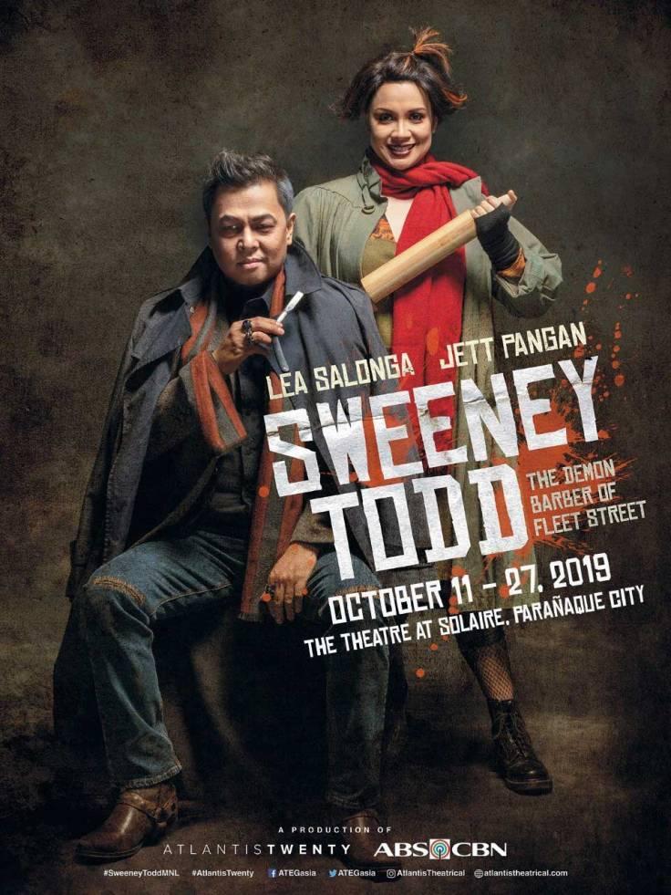 Sweeney Todd Musical Manila