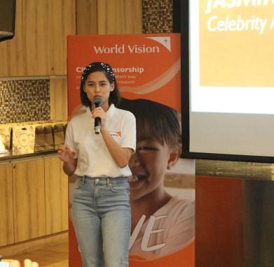 world vision noche buena campaign 2019 jasmine curtis smith