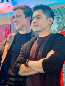 Arjo Atayde and Carlo Aquino
