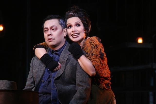 Sweeney Todd_ Jett Pangan & Lea Salonga_photo credit Atlantis Theatrical Entertainment Group