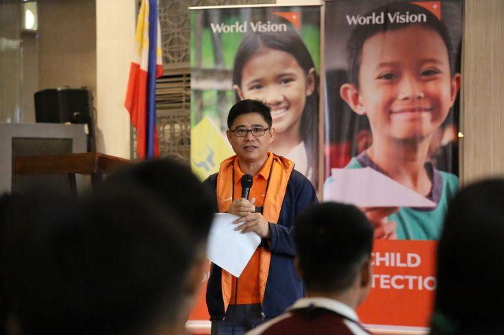 world vision national children congress 2019 rommel fuerte