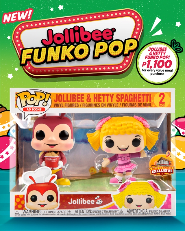 Jollibee x Hetty Funko Pop!