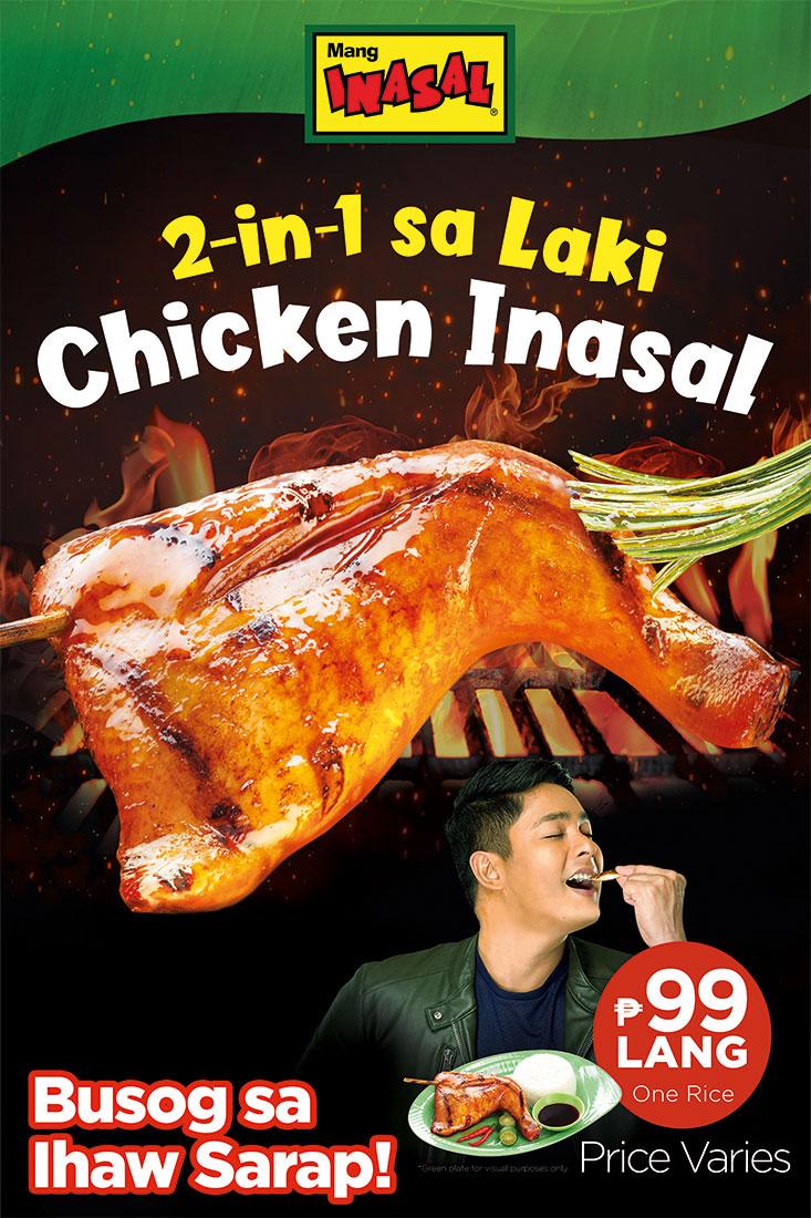 For Busog sa Ihaw Sarap meal, go to Mang Inasal