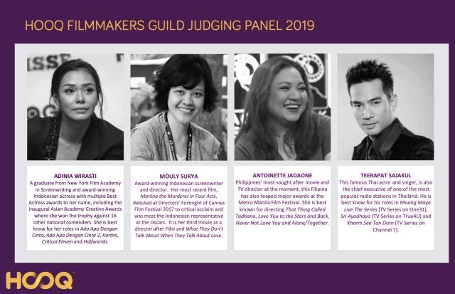 HOOQ Filmmakers Guild Judge 2019