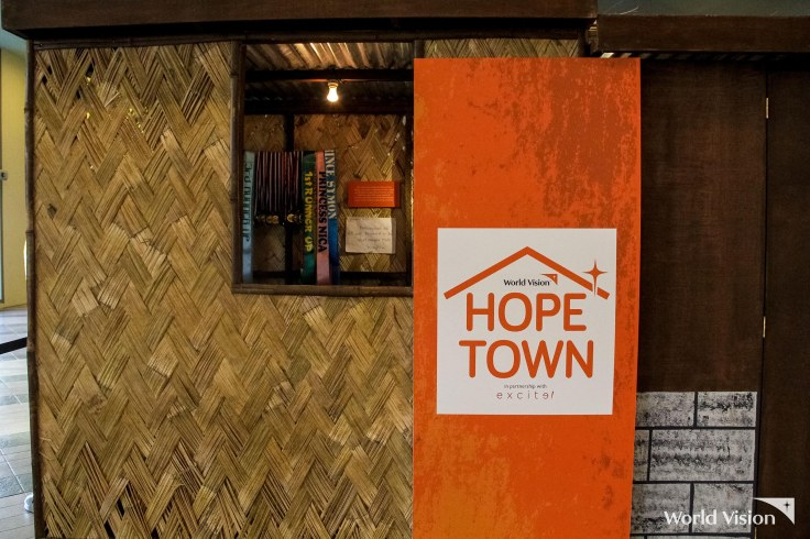 world vision hope town launch