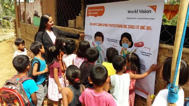 world vision philippines coronavirus response
