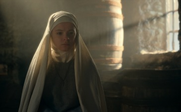 CURSED (L TO R) EMILY COATES as SISTER IRIS in episode 103 of CURSED Cr. Netflix © 2020
