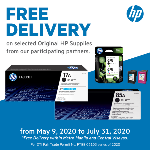 HP Free Delivery