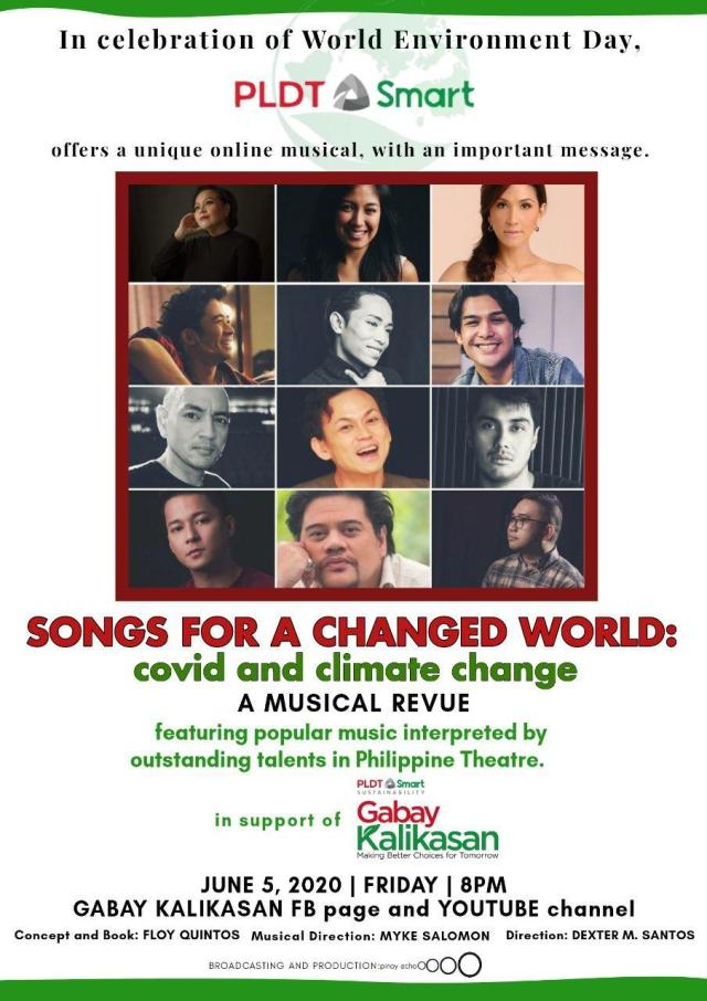 Final Poster Songs for a Changed World