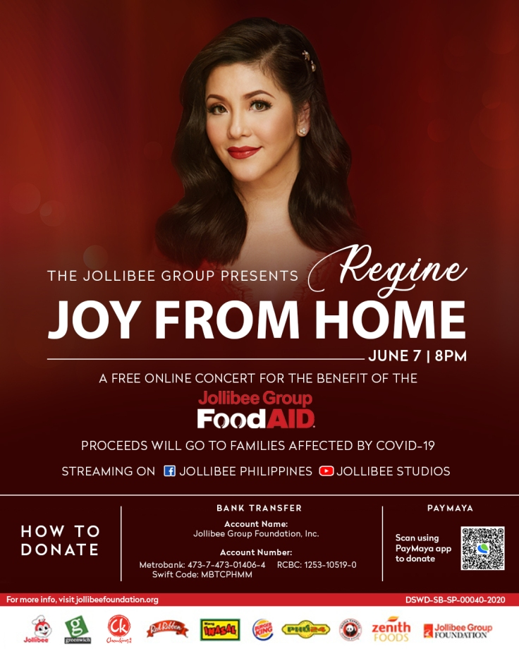 Jollibee Joy from Home Concert